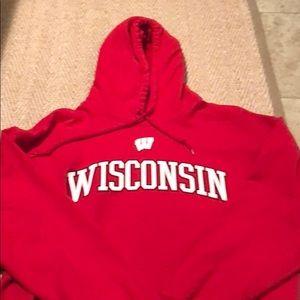 Go Badgers!!  Wisconsin college hoodie!